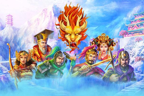 RTG Asia最新老虎机游戏《三国争霸》登场! 回到三国,开启丰富玩法时代