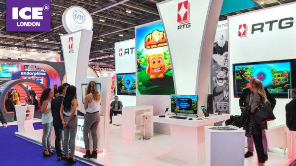 RTG 於倫敦ICE 展會與各大營運商共開「好旺年」!